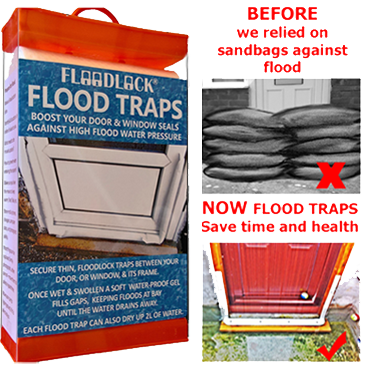 Flood Traps inflatable seals