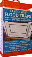 Floodlock Flood Traps; a more sustainable, effective, quick & easy alternative to sandbags